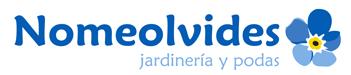 Jardinería Nomeolvides Logo